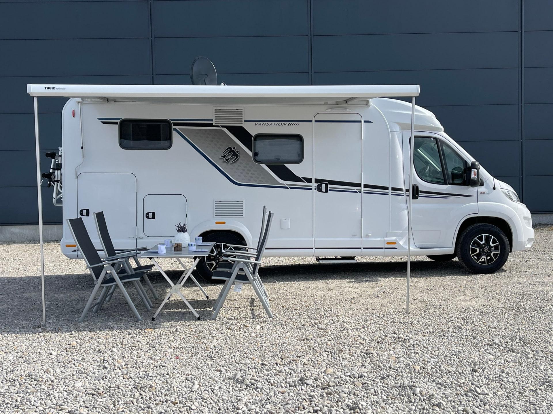 KNAUS VAN TI 650 MEG VANSATION Wohnmobilvermietung Haug Muenchen Haug